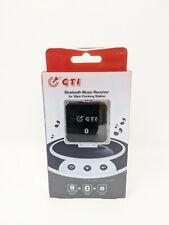 NEW 30 Pin Bluetooth Music Receiver BLACK iPod/iPhone/iPad Sound Adapter (3370)