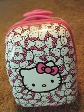 Kids' Hello Kitty Vintage Suitcase with rollers and extendable handle