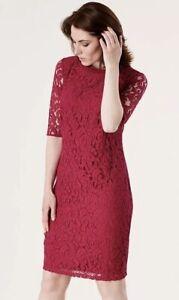 Celuu Florence Lace Dress, Pink Size 14. Womans Dress