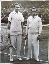 Jean Borotra & Henri Cochet 1927 Wimbledon finale Photo