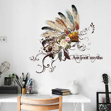 DIY Removable Emirates Hat  Wall Decal Family Home Sticker Mural Art Home Decor