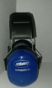 Peltor Ultimate 10 Earmuffs (NRR 30dB) Blue Ear Protection Shooting Equipment