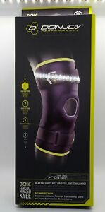 NEW DonJoy Performance Bionic Comfort Hinged Knee Brace Size S/M ~ Max Support