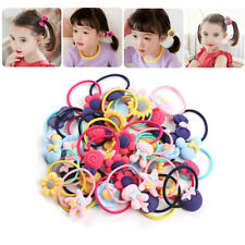 40PCS Girl Kids Hair Band Ties Rope Ring Rubber Bands Hair Accessories Headdress