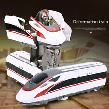 Funny Transformation Robot Train Model Classic Toy Action Figure Gift Children