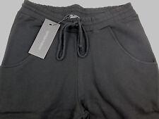 Cotton Therapy Women's INT01 Boyfriend Soft Pants w/Drawstring Waist Black XL