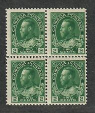 Canada Sc#107, M/NH/F, Block Of 4, Cv. $260