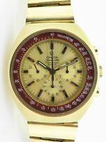 .Rare Vintage 1970 Omega Speedmaster Pro MkII Gold GP 861 Mens Watch 164 034