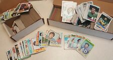 OLD FOOTBALL CARDS CARD LOT - Topps 1970's 1980's