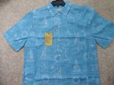 "ALOHA Shirt  ISLAND REPUBLIC ""Nautical Boating"" THEME BRAND NEW Retail TAG  XL"