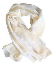 Foulard à Pois - Beige - Pois blancs - Carré - 100 x 100 cm