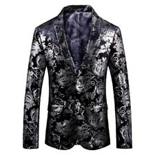 "Mens Blazer Royal Jacket Adult Fashion Design Smart SlimFit Blazers Coat 37""-44"""