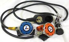 SCUBA Diving Systems Z90 Regulators (2) Oceanic 1st stage & PSIG gauge Console
