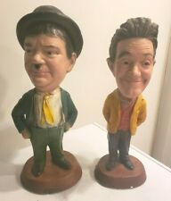New ListingVintage 1971 Esco Chalkware Statues - Stan Laurel & Oliver Hardy