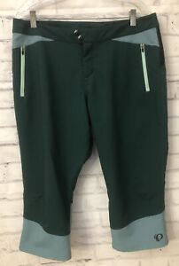 PEARL IZUMI Pants Cycling Wear Style 19211805 SUMMIT Capri Size 14 Green