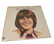 Helen Reddy - Free and Easy - Capitol 1974  Lp Record