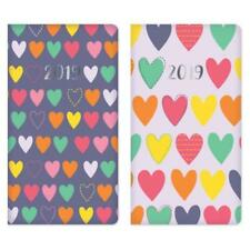 2019 Week to View Repeat Hearts Design Organiser