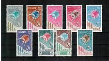 French Colonies 1965, ITU UIT issue - complete omnibus lot, superb MNH, high CV