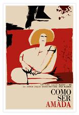 "Spanish movie Poster 4 film""HOW to be Loved""Polish film.Graphic Design.Art Decor"