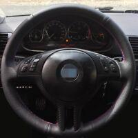 FUNDA CUBRE VOLANTE CUERO PU PARA BMW E39 X5 E53 E46  CUBREVOLANTE SERIE 3 5