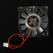 Crystal 40x40x10mm 2 Pins 12V Cooling Fan for PC CPU Card VGA Cooler Heatsink