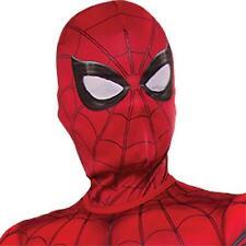 CHILD MARVEL COMIC SUPER HERO SPIDERMAN FABRIC MASK COSTUME ACCESSORY RU34499