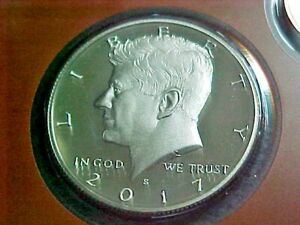 2017 S  PROOF KENNEDY HALF DOLLAR FROM PROOF SET