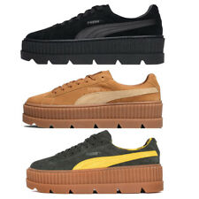 PUMA Fenty X Rihanna Cleated Creeper Shoes Ladies Black Brown Green Trainers