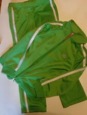 Girls French Toast Warm Up Suit  Green     Size 4T