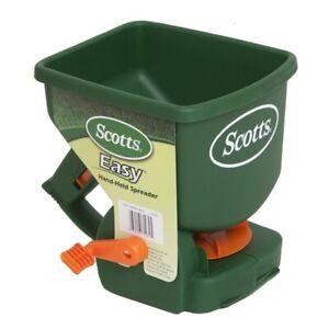 Scotts Lawn Builder Handy Green Manual Hand Held Fertiliser Seeder Spreader