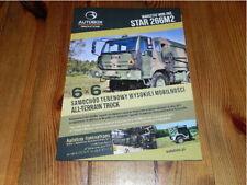 STAR 266M2 Autobox Defence Truck Military Vehicles Militär LKW brochure prospekt