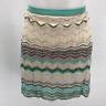 Missoni Tan Knit Skirt 10