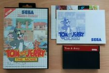 Tom and Jerry - European PAL - Master System - Great Condition