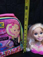 Belinda Barbie Lunch Box Backpack Doll Hair Head Bundle
