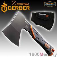 Gerber Bear Grylls Survival Hatchet Full Tang High Carbon Steel Sheath 31-002070