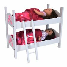 Bunk Bed for Twin Dolls fits for 18 Inch Baby Dolls (Latest Style) Super Quality