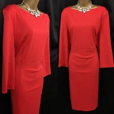 SAVOIR Dress Size 24 RED Occasion Evening Party BNWT A28