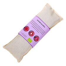 Natural Lavender Eye Pillow, Organic Cotton. Size 22cm x 8cm