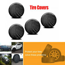 """4PCS Universal 26""""-27'' Wheel Tire Covers For RV Trailer Camper Car Truck Pickup"""