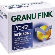 GRANUFINK Prosta forte 500 mg   140 st   PZN10011938
