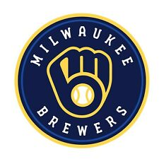 Milwaukee Brewers 2 Pack Die Cut Decal Sticker - You Choose Size FREE SHIPPING