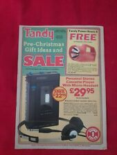 More details for rare tandy catalogue pre-christmas gift ideas & sale 1982 vintage electronics