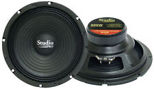 1 New Pyramid Wh8 8'' 200 Watt High Power Paper Cone 8 Ohm Subwoofer Sub