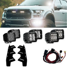 RIGID 41610 LED Fog Light Kit for 17 18 Ford F150 Raptor with 6 D-Series Lights
