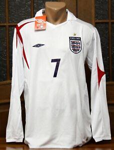 ENGLAND 2006 FIFA World Cup long sleeve soccer football jersey