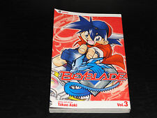 BEYBLADE Vol.3 Book Manga Graphic Novel Comic