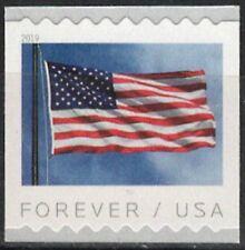 USA Sc. 5342 (55c) Flag 2019 MNH 9½ APU coil single