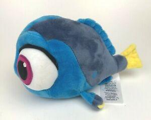 Baby DORY Finding Nemo DISNEY Store PLUSH Stuffed Animal TOY Blue Fish BIG Eyes