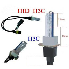 35w H3 HID Globe/Bulb. 4300k, 5000k, or 6000k Short Steel Base/Glass. H3c