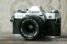 Canon AE-1 SLR 35mm Film Camera, FD 28mm f2.8 Lens, GUARANTEED, A1 F1 AT RA098